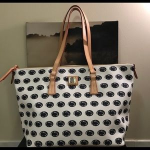 Dooney and Bourke Penn State Purse - Gently Used